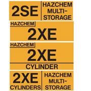 Hazchem Warning Signs