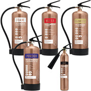 Antique Copper Extinguishers