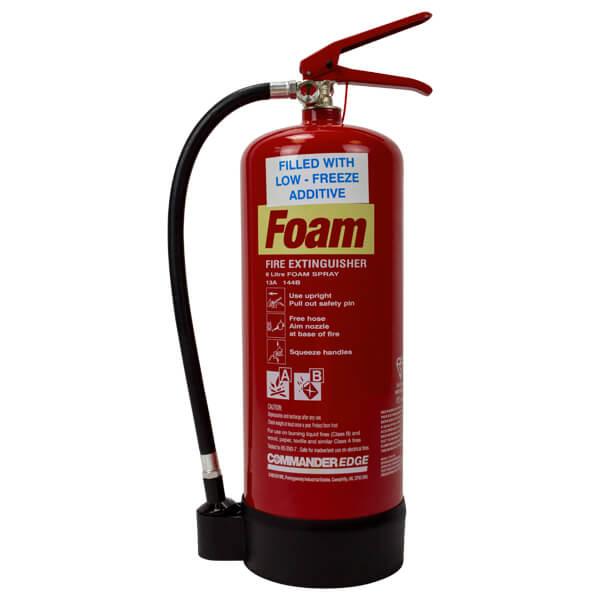 6ltr Foam Extinguisher With Antifreeze