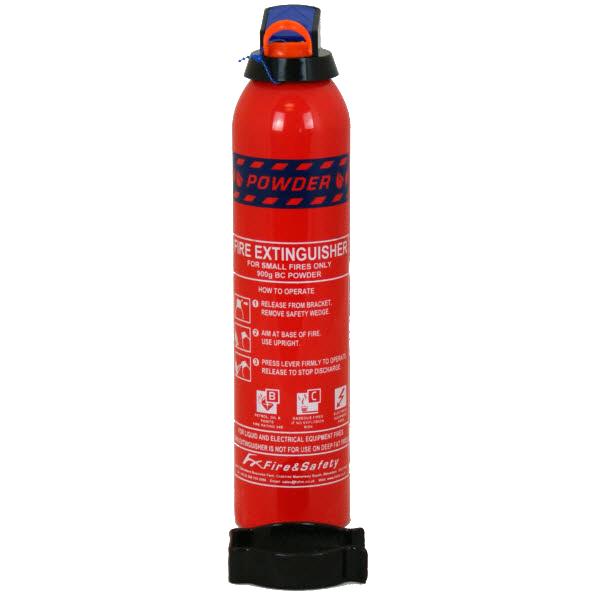 FX Fire 0.90kg car extinguisher