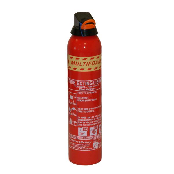 600ml Multifoam Fire Extinguisher