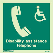 Disability Assistance Telephone 4004