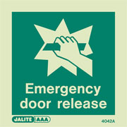 Emergency Door Release 4042
