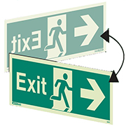 Hanging Exit Right 405DS