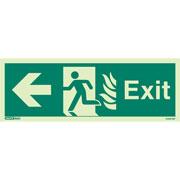 NHS Exit Left 409HTM