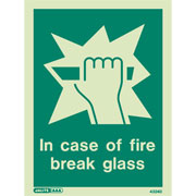 Break Glass In Fire 4324