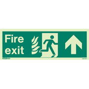 NHS Fire Exit Up 436HTM