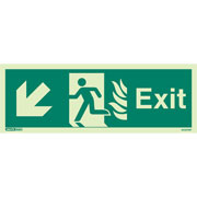 NHS Exit Down Left 443HTM
