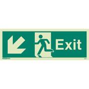 Exit Down Left 443