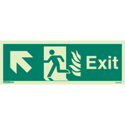 NHS Exit Up Left 444HTM