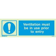 Ventilation At Entry 5228
