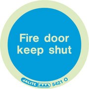 Fire door keep shut 5421 10-pack