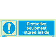 Protective Equipment Stored 5514