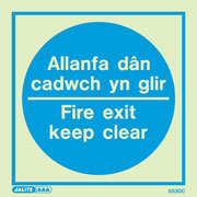 Allanfa Dan Cadwch Yn Glir 5530