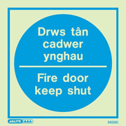 Drws Tan Cadwer Ynghau 5533