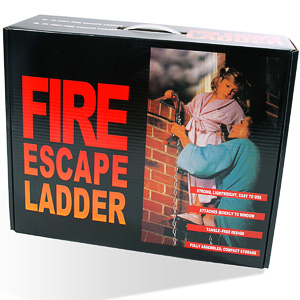 7.5m Fire Escape Ladder
