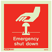 Emergency Shut Down 6001