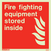 Fire Fighting Equipment Stored Inside 6284