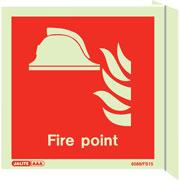 Wall Mount Fire Point Marker 6459