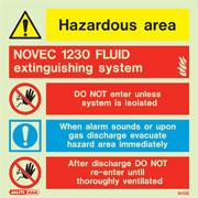 Novec 1230 Fluid Extinguishing System 6513