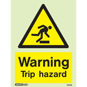 Warning Trip Hazard 7043