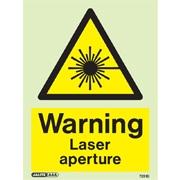 Warning Laser Aperture 7251