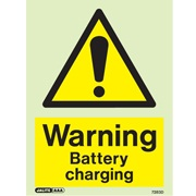 Warning Battery Charging 7283