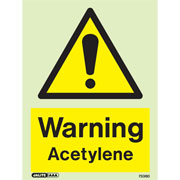 Warning Acetylene 7336