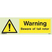 Beware Tail Rotor 7394