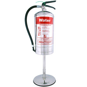 Stainless extinguisher stand 6ltr