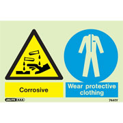 Corrosive Wear Protective Clothing 7441