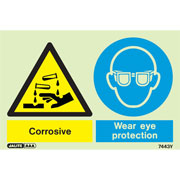 Corrosive Wear Eye Protection 7443
