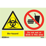 Bio Hazard Do Not Eat Or Drink 7470