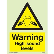 Warning High Sound Levels 7494