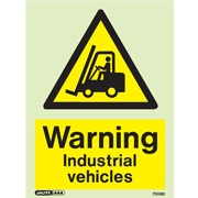 Warning Industrial Vehicles 7509