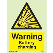Warning Battery Charging 7523