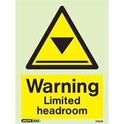 Warning Limited Headroom 7583