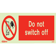 Do Not Switch Off 8057