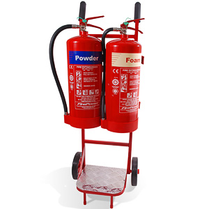 Budget extinguisher trolley