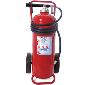 100kg powder wheeled extinguisher