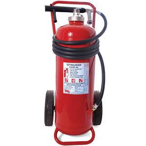 100kg powder wheeled extinguisher