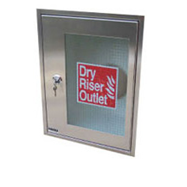 Stainless Steel Architrave & Door Outlet Cabinet