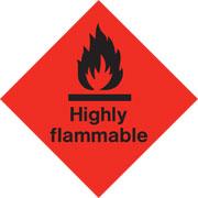Diamond Highly Flammable HAZ03