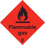 Diamond Flammable Gas HAZ15