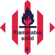 Diamond Flammable Solid HAZ19