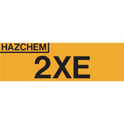 Hazchem 2XE HAZ2XE