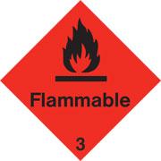 Diamond Flammable HAZ31