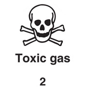 Diamond Toxic Gas HAZ44