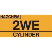 Hazchem Cylinder 2WE HAZCYL2WE