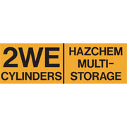 Hazchem Cylinders Multi Storage 2WE HAZCYLMS2WE